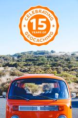 Souvenir 15 ans de Geocaching