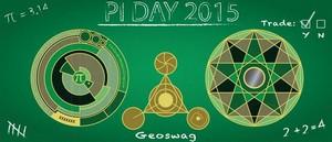 Pi day 2015 Geocoin