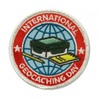 2016 International Geocaching Day - Patch