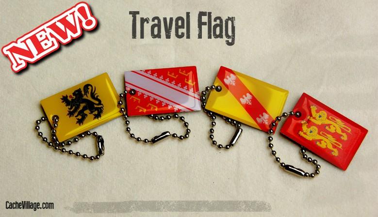 De nouveaux Travel Flags en rayon !