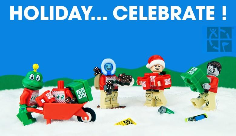 Fêtez Noël en LEGO !