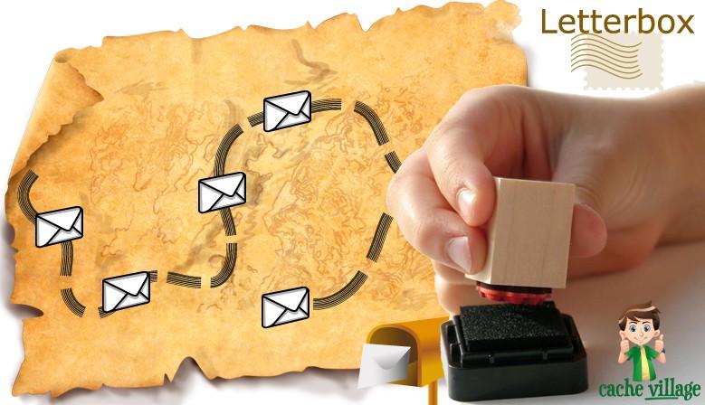 Un rayon dédié aux caches Letterbox