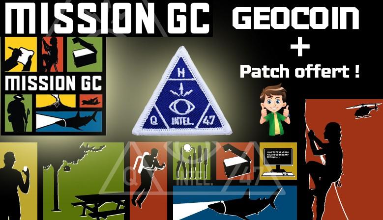 Offre exceptionnelle sur le géocoin Mission GC !