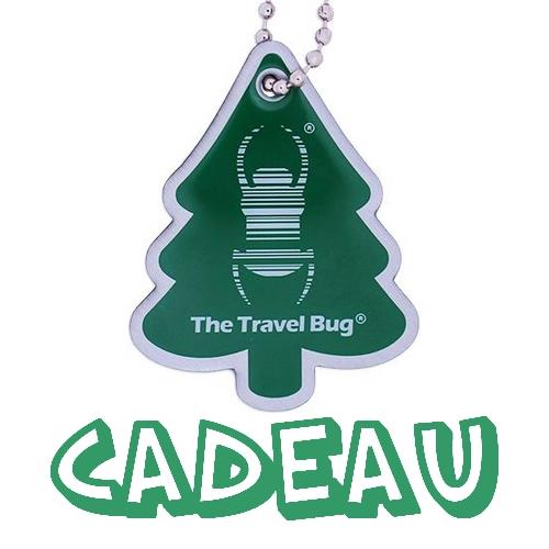 Un Travel Bug offert dès 25€ d'achat