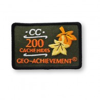 Patch Geo-Achievement® 200 Hides