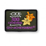 Patch Geo-Achievement® 300 Hides