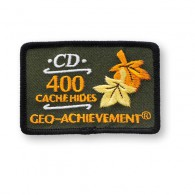 Patch Geo-Achievement® 400 Hides
