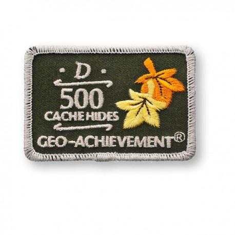 Patch Geo-Achievement® 500 Hides