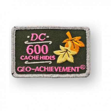 Patch Geo-Achievement® 600 Hides