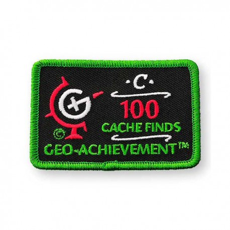 Patch Geo-Achievement® 100 Finds