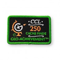 Patch Geo-Achievement® 250 Finds