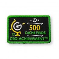 Patch Geo-Achievement® 500 Finds