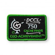 Patch Geo-Achievement® 750 Finds