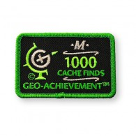 Patch Geo-Achievement® 1000 Finds