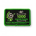 Patch Geo-Achievement® 1000 Finds