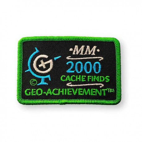 Patch Geo-Achievement® 2000 Finds