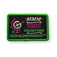 Patch Geo-Achievement® 3000 Finds