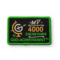 Patch Geo-Achievement® 4000 Finds