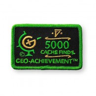 Patch Geo-Achievement® 5000 Finds
