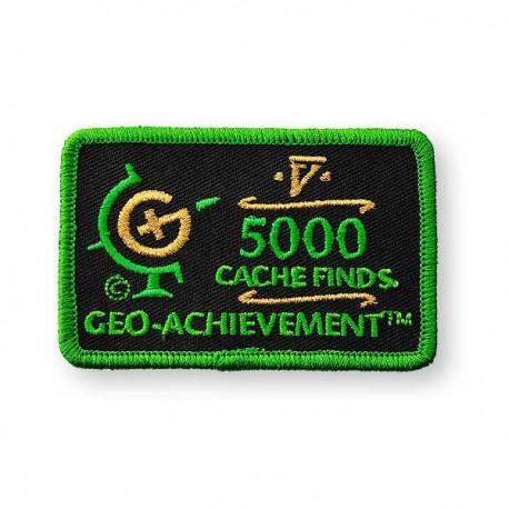 Patch Geo-Achievement® 5000 Finds