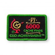 Patch Geo-Achievement® 6000 Finds