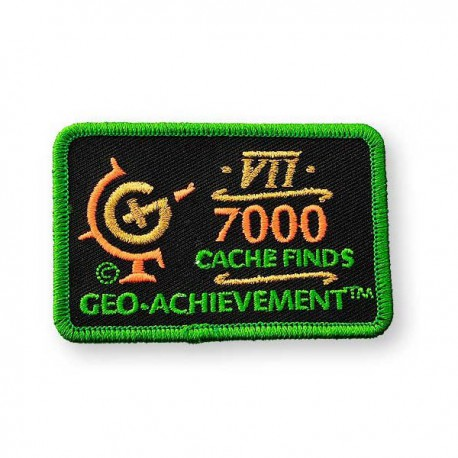 Patch Geo-Achievement® 7000 Finds