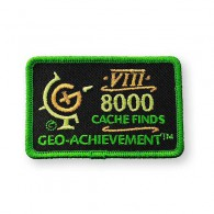 Patch Geo-Achievement® 8000 Finds