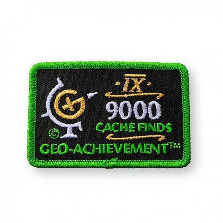 Patch Geo-Achievement® 9000 Finds