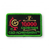 Patch Geo-Achievement® 10000 Finds