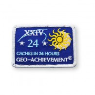 Patch Geo-Achievement® 24 Hours 24 Caches
