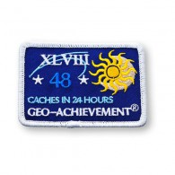 Patch Geo-Achievement® 24 Hours 48 Caches