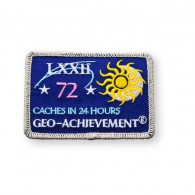 Patch Geo-Achievement® 24 Hours 72 Caches