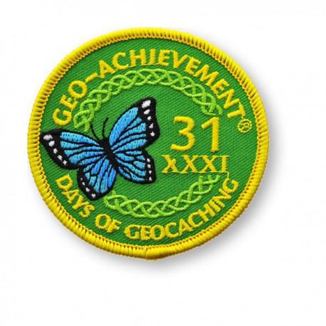 Patch Geo-Achievement® 31 Jours
