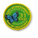 Patch Geo-Achievement® 31 Jours