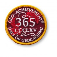 Patch Geo-Achievement® 365 Jours