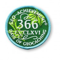 Patch Geo-Achievement® 366 Jours