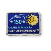 Patch Geo-Achievement® 24 Hours 150 Caches