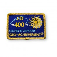 Patch Geo-Achievement® 24 Hours 400 Caches