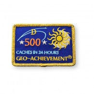 Patch Geo-Achievement® 24 Hours 500 Caches