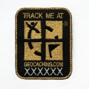 "Travel Patch ""Track me"" - Or"