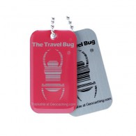 Travel Bug QR - Rose