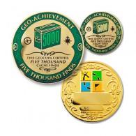 Geo Achievement® 5000 Finds + Pin's + Ecrin