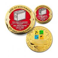 Geo Achievement® 6000 Finds + Pin's + Ecrin