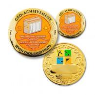 Geo Achievement® 7000 Finds + Pin's + Ecrin