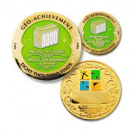 Geo Achievement® 8000 Finds + Pin's + Ecrin