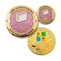 Geo Achievement® 9000 Finds + Pin's + Ecrin