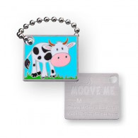 Travel Tag Vache