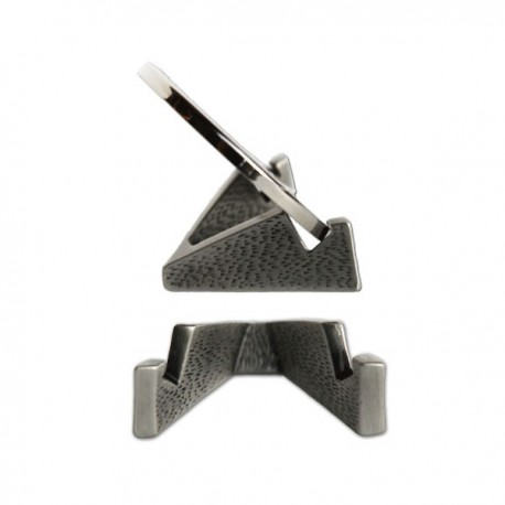 Support Triangle pour Geocoin - Argent