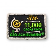 Patch Geo-Achievement® 11000 Finds