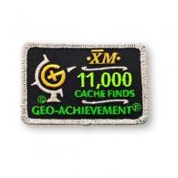Patch Geo-Achievement® 11000 Finds